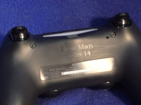 Play Station Controller Engraved